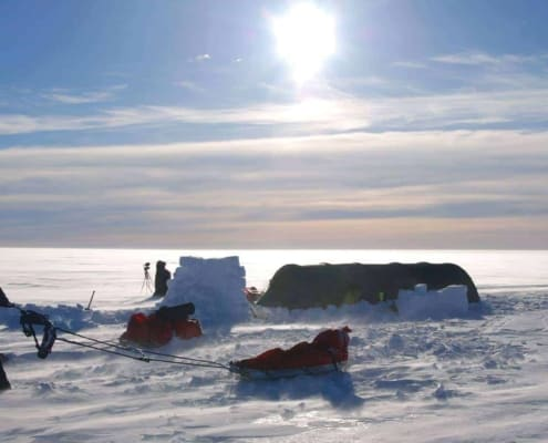 Tentenkamp op Groenland