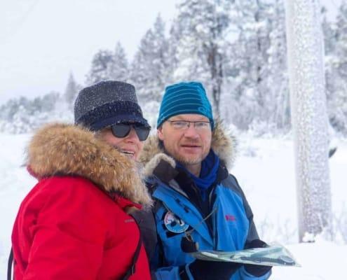 Henk-Jan Geel als gids bij Arctic Adventure