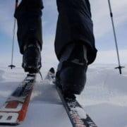 Complete set: BC Schoenen, ski's en slee huren