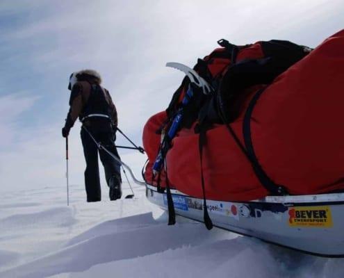 Manhauling op Groenland