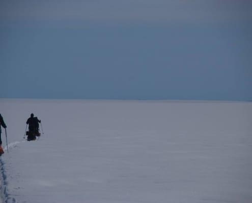 Alleen op de Groenlandse IJskap