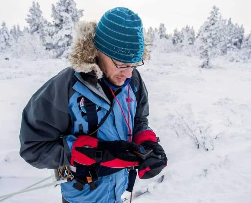 Positiebepaling in Zweden met de GPS