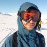 Luuk van Houdt in Noorwegen op de Hardangervidda