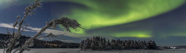 Noorderlicht in Zweden