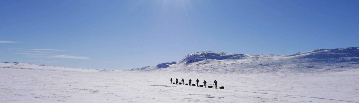 Expeditie in Hardangervidda