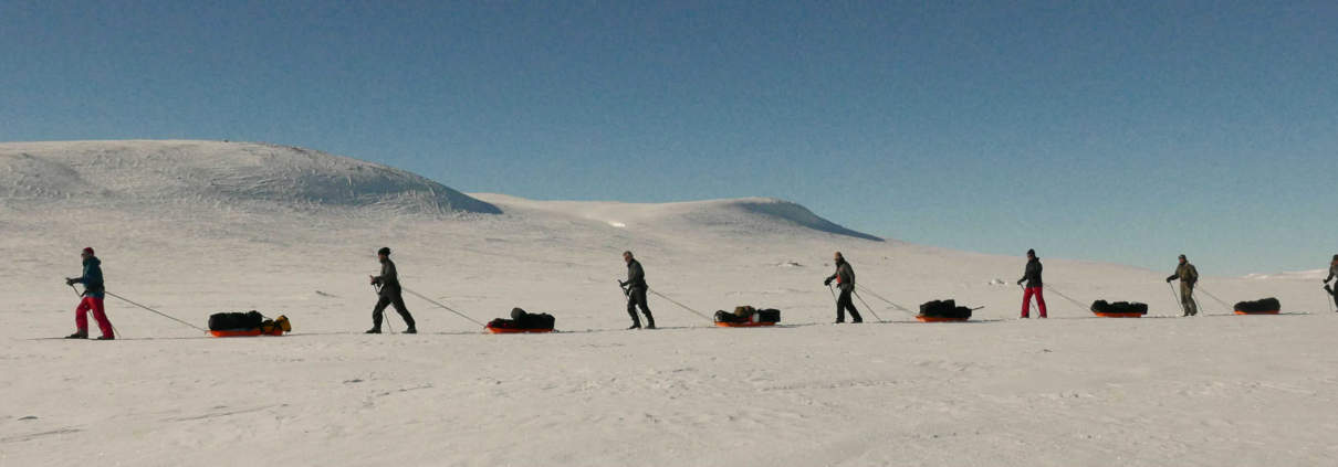 Expeditie in Hardangervidda, Noorwegen