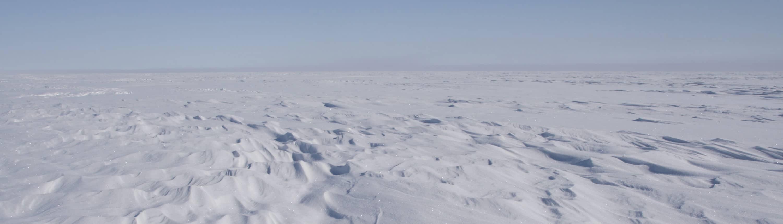 Sastrugies op Groenland