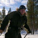 Arjen Treurniet tijdens de Arctic Grand Slam in Zweden