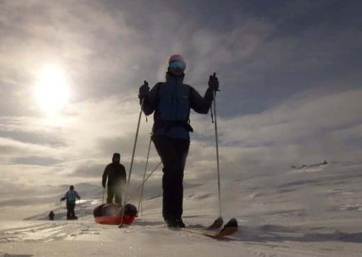 Toerlanglaufen in Noorwegen