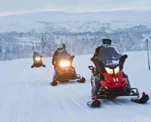 mikko nikkinen snowmobile 2176 OUDER-KIND EXPERIENCE extra