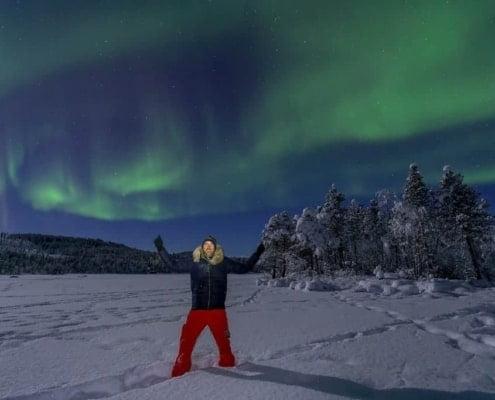 Sander Goldbach bij het Noorderlicht