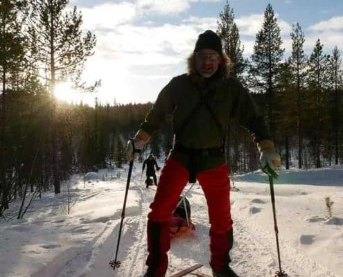 Johan Bosma in Zweden