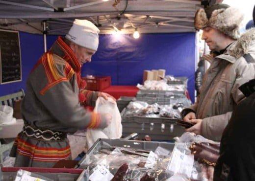 De jaarmarkt van Jokkmokk