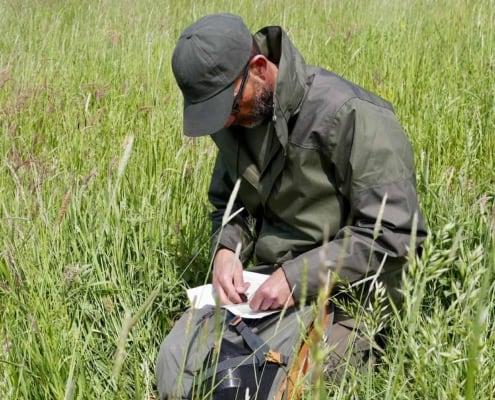 Locatie bepalen in het veld