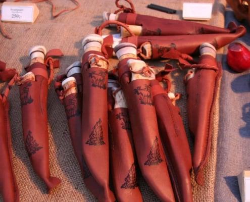 Lapland messen op de Sami jaarmarkt in Jokkmokk
