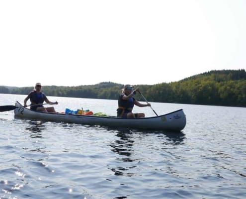 Kano-Wandel-Trekking-Zuid-Zweden
