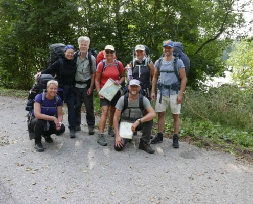 Team foto Kano-Wandel-Trekking-Zuid-Zweden Olofstrom