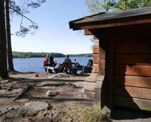 Kano-Wandel-Trekking-Zuid-Zweden Olofstrom